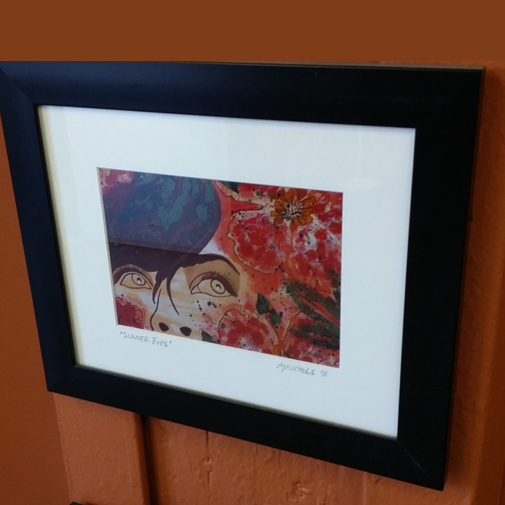 Creative framing services at Creativ Framing and Design