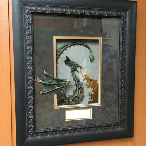 Beautiful framing services at Creativ Framing and Design