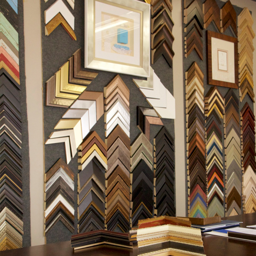 Custom framing services in Rochester, NY uses only the highest quality of materials
